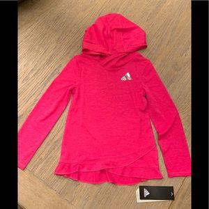 NEW! Adidas | Climalite Hoodie Girls Size 4